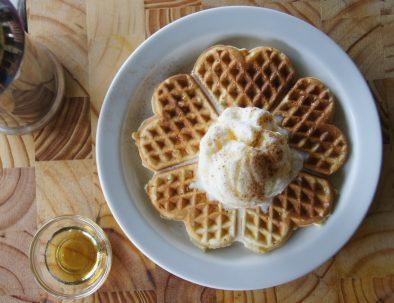 waffle-and-ice-cream